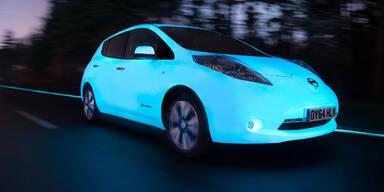 Dieses Auto leuchtet von selbst