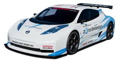 Nissan Leaf Nismo RC für die Rennstrecke