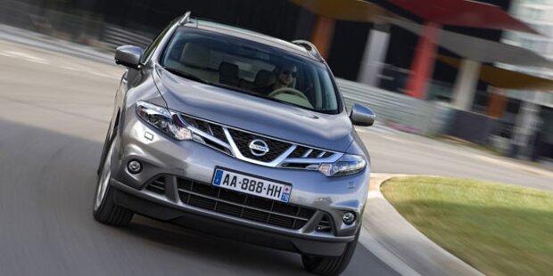 Leichtes Facelift für den Nissan Murano