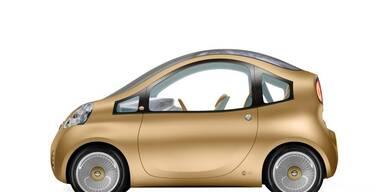 Nissan Nuvu - Atudie eines E-Autos von 2008; Bild: Nissan
