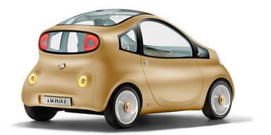 Nissan Nuvu ist Micra mit Elektro-Antrieb