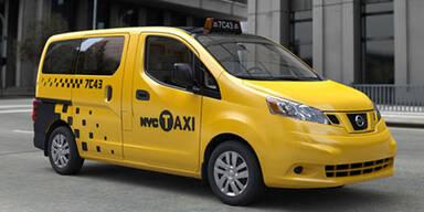 New Yorker Kult-Taxis kommen bald von Nissan
