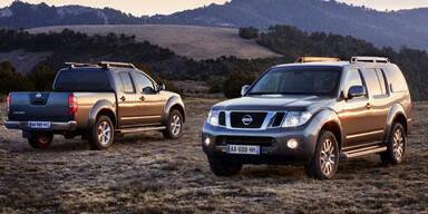 """""""Platin"""" für Nissan Pathfinder und Navara"""