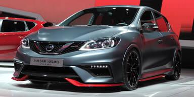 Nissan Pulsar Nismo und Juke Nismo RS