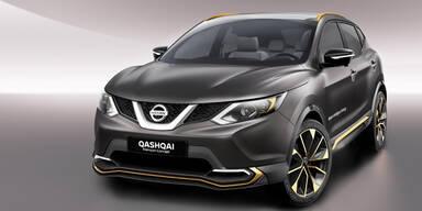 Nissan zeigt einen Premium-Qashqai