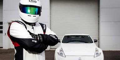 """Nissan enthüllt Identität seines """"Stig"""""""