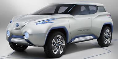 Nissan zeigt die Studie Terra