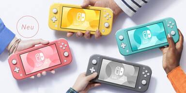 Switch Lite startet in neuem Farbton