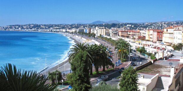 Nizza plant Nichtraucher-Strand