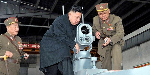 Nordkorea macht Raketen bereit