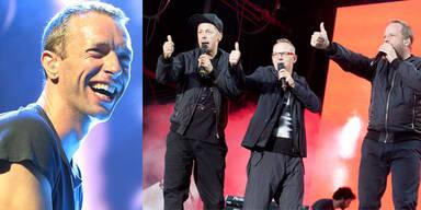 Fanta4 und Coldplay