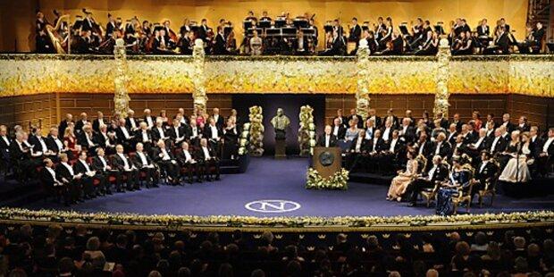 Nobelpreise 2011 in Stockholm verliehen
