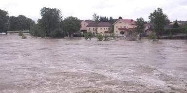 NÖ: Pegel der Donau steigt weiter