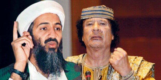 Gaddafi droht: