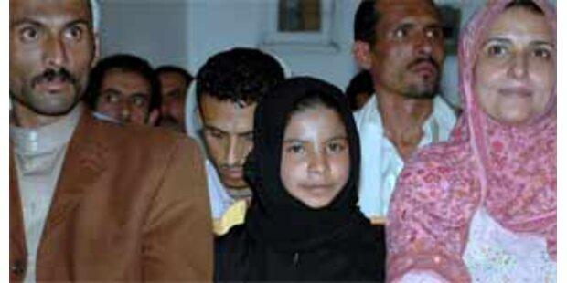 Neunjähriges Mädchen aus dem Jemen geschieden