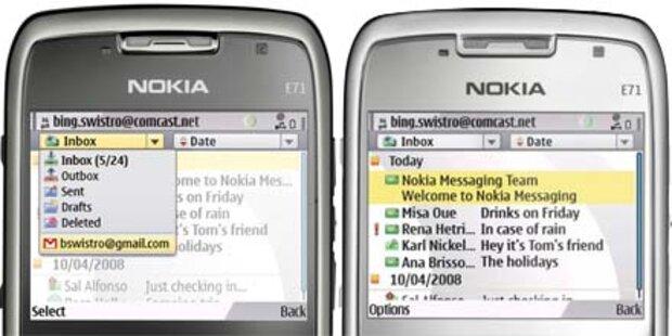 Nokia Messaging startet in Österreich