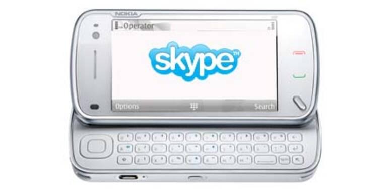 Skype gibt es nun auch für Nokia-Handys