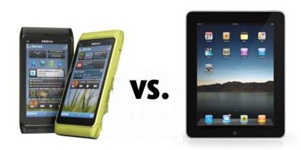 Nokia klagt nun auch gegen Apples iPad