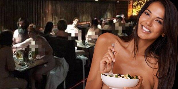 Nackt-Restaurant öffnet Pforte in Italien