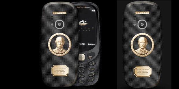 Irre: Neues Nokia 3310 als Putin-Edition