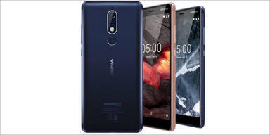 Nokia bringt 3 günstige Android-Smartphones
