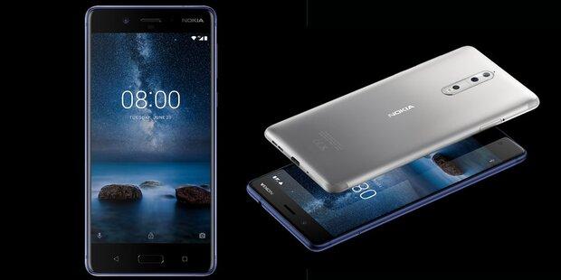 Nokia 8 sagt iPhone den Kampf an