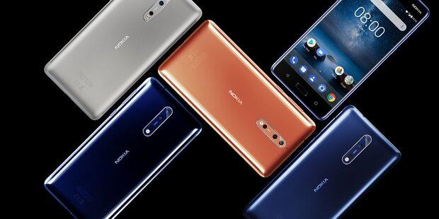 Nokia überholte HTC, Sony und Google