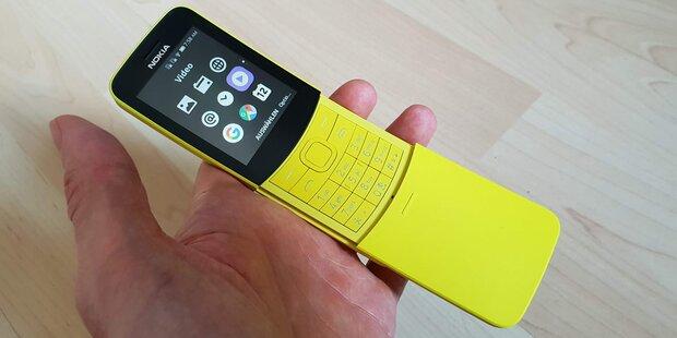Nokia 8110: Bananen-Handy im Test