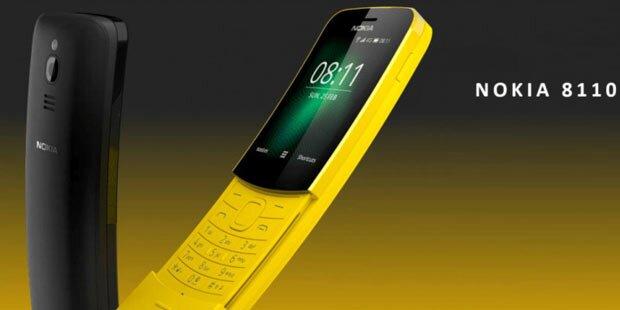 Neuauflage des Nokia 8110 ab sofort in Österreich