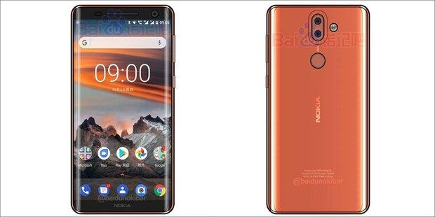 Nokia 9 greift iPhone X und iPhone 8 an