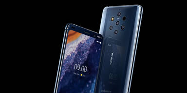 Nokia 9 mit Fünffach-Kamera ist da