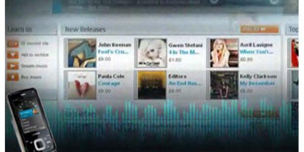 Nokia bringt Spiele-Handys und Music-Store