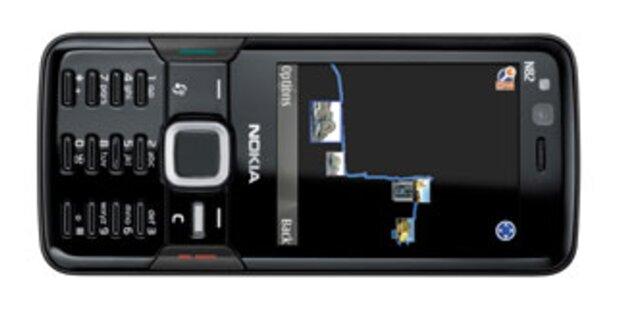 Nokia N82 jetzt auch in schwarz