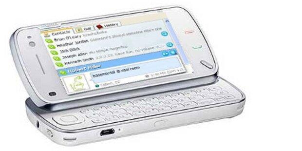 Skype bald serienmäßig auf Nokia-Smartphones