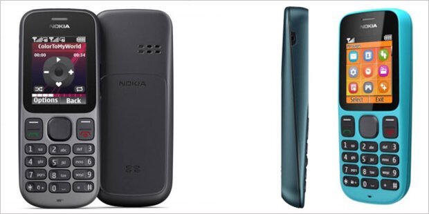 Nokia bringt neue Handys um 30 Euro