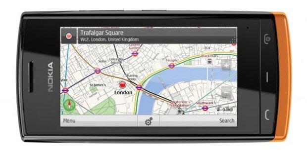 Nokia 500: 1 GHz-Handy für 200 Euro