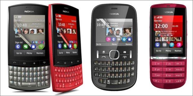 Nokia bringt vier neue