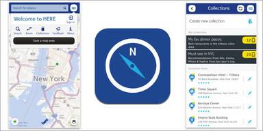 """Nokia """"Here Maps"""" für iPhone & iPad ist da"""