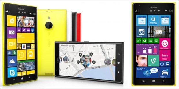 Nokia-Phablet Lumia 1520 bei uns gestartet