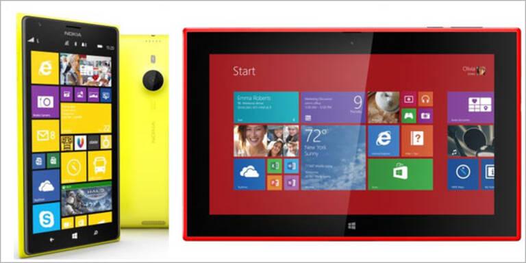 Nokia greift mit Tablet und Phablet an