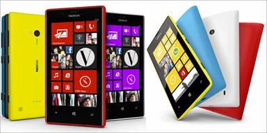Nokia bringt günstige Lumia-Smartphones