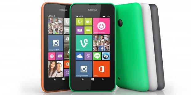 Nokia Lumia 530 kommt für unter 100 Euro