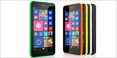 Nokia greift mit dem Lumia 630 an