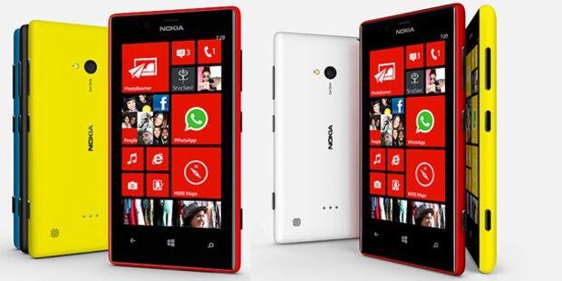 Jetzt startet das Lumia 720 in Österreich
