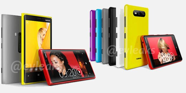 Nokia stellte Lumia 920 und 820 vor