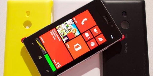 Windows Phone zieht an Blackberry vorbei
