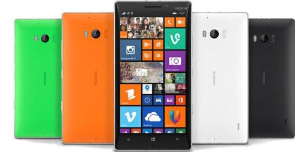 Nokia greift mit dem neuen Lumia 930 an