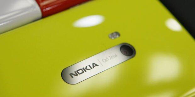 Nokia Windows-Handy mit 41 MP-Kamera