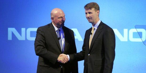 Nokia-Deal soll Microsoft mobil machen