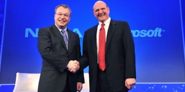 Nokia & Microsoft rechtfertigen Allianz